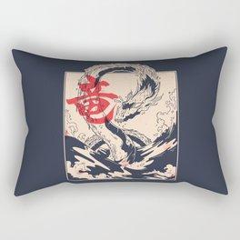Japanese Sea Dragon Rectangular Pillow