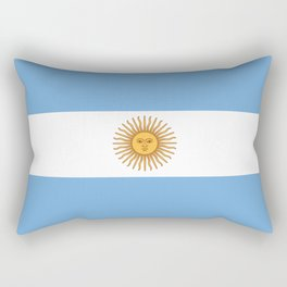 Argentina Flag Rectangular Pillow