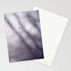 Rain drops. Stationery Cards