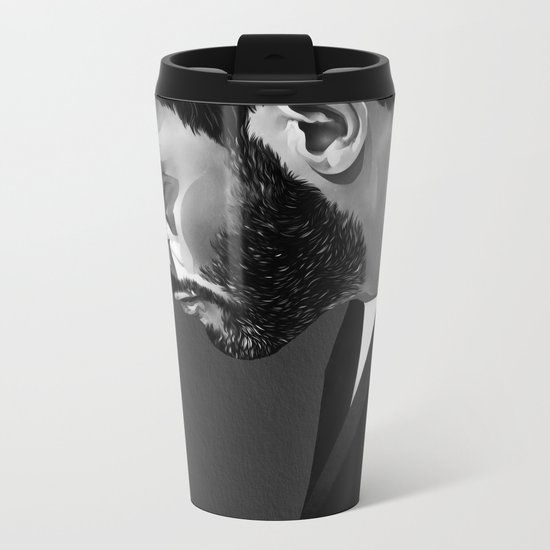 Leon Metal Travel Mug