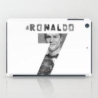 ronaldo iPad Cases featuring Cristiano Ronaldo by Aeriz85