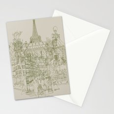 Paris! Musty Stationery Cards