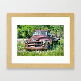 1954 Chevy 6400 Framed Art Print
