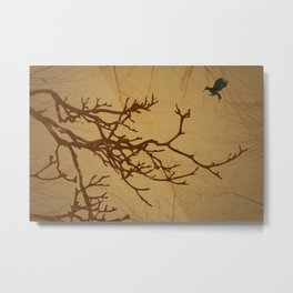 MockingJay Tree Metal Print