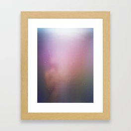 Fog and Light Framed Art Print