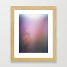 Fog and Light Framed Art Print