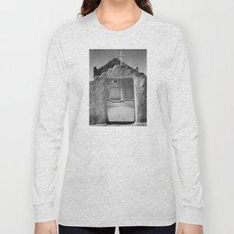 Ansel Adams - Taos Pueblo Church Long Sleeve T-shirt