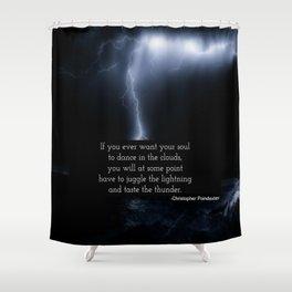 Juggle Lightning Shower Curtain