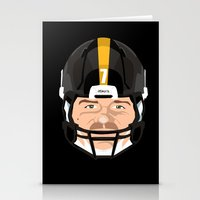 pittsburgh Stationery Cards featuring Faces- Pittsburgh by IllSports