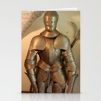 knight Stationery Cards featuring Knight by SlothgirlArt