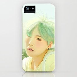 Mint Yoongi iPhone Case