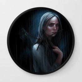 Broken soul Wall Clock