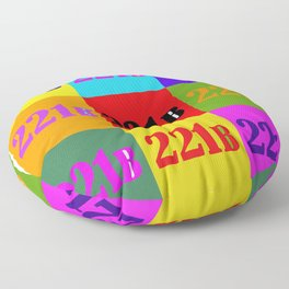 221B Color Block Floor Pillow