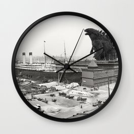 The White Star Line and Godzilla Wall Clock