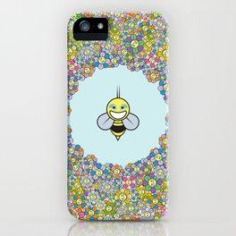 FLOWER POWER BEE iPhone Case