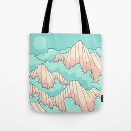 Peaks of the forest Tote Bag