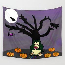 Halloween Munchies Wall Tapestry