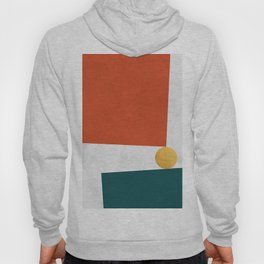 Blue and red art V Hoody