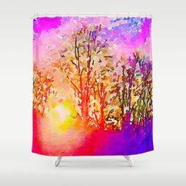 Dawn in Me Shower Curtain