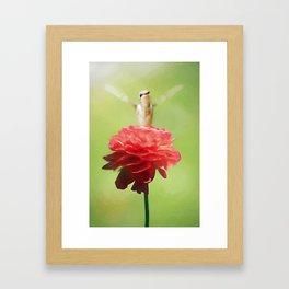 The Flower Goddess Framed Art Print