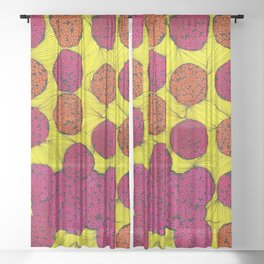 Life Is Not Perfect Sheer Curtain