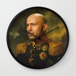 Joe Rogan Poster, Comedian, Podcast, Classical Painting as General, Regal art Wall Clock