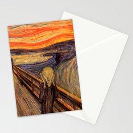 "Edvard Munch ""The Scream"", 1893 Stationery Cards"
