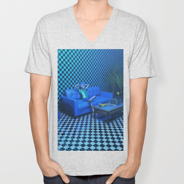 Blue Room Unisex V-Neck