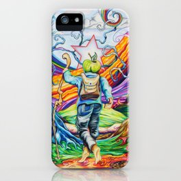 The Hiker iPhone Case