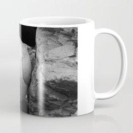 Rock Between Two Hard Places Coffee Mug