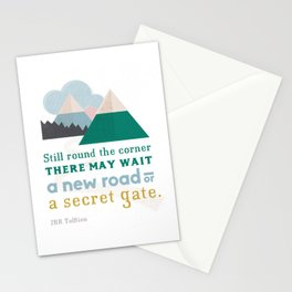 Round the corner Stationery Cards