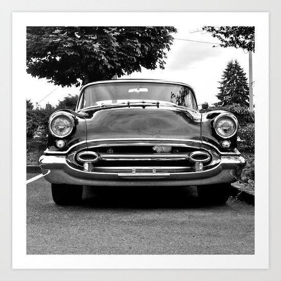 '55 Oldsmobile Art Print