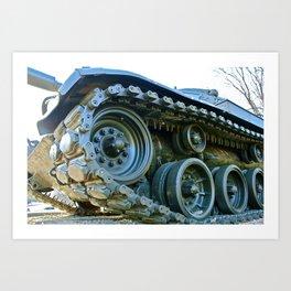 Tanker ONE Art Print