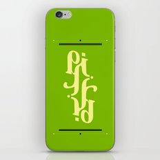 Type Foundry - Cambria Bold Italic iPhone & iPod Skin
