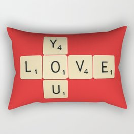 Love You Rectangular Pillow