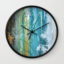 In Plain Sight Wall Clock