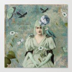 Poetic Art Canvas Print