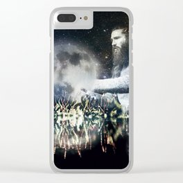 Saving space Clear iPhone Case