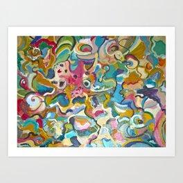 Seafantasy Art Print