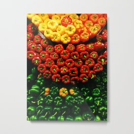 Bell Pepper Display Metal Print