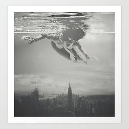 Invisible Cities Art Print