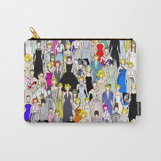 Audrey Marilyn Punks in Tokyo Carry-All Pouch
