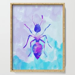 Abstract Ant Serving Tray