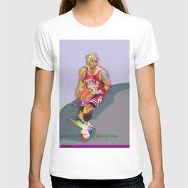 Chicago Sports Icon #23 Art Print Basketball T-shirt