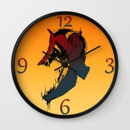 Laughing Devil Clockwork ORNGE Wall Clock