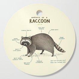 Anatomy of a Raccoon Cutting Board