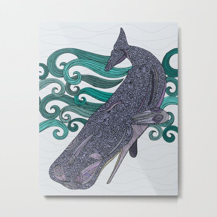 Deep Violet Metal Print