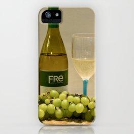 White Wine Still Life iPhone Case