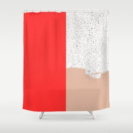 Mid Sun Shower Curtain