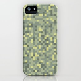 Modern Military camouflage pattern 1 iPhone Case